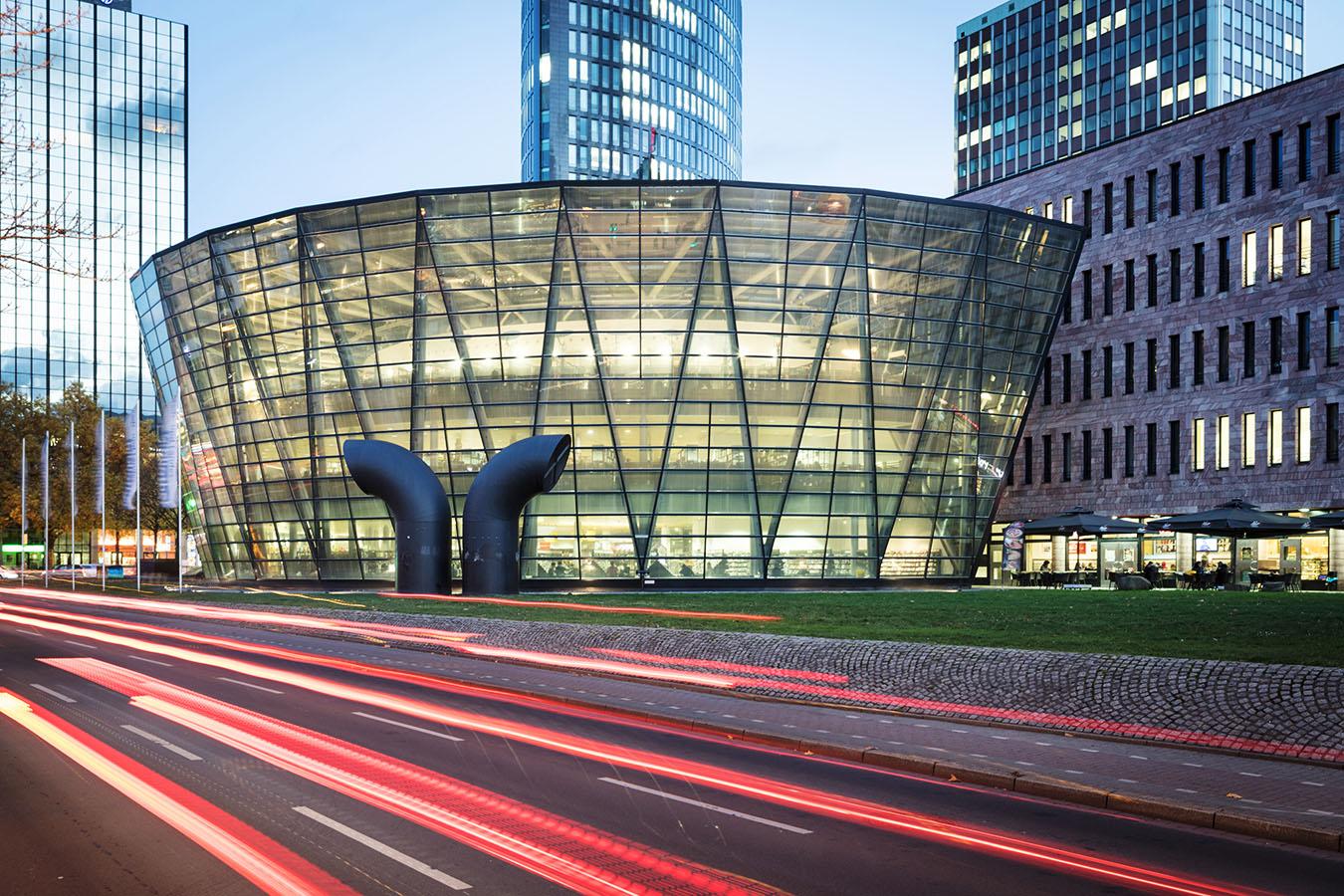 Architekturfotografie: Stadt- und Landerbibliothek, Dortmund