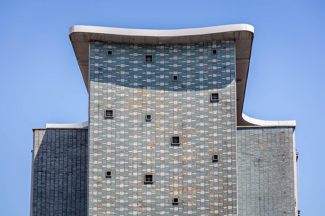 Architekturfotografie: Fassade des Gesundheitsamts, Dortmund