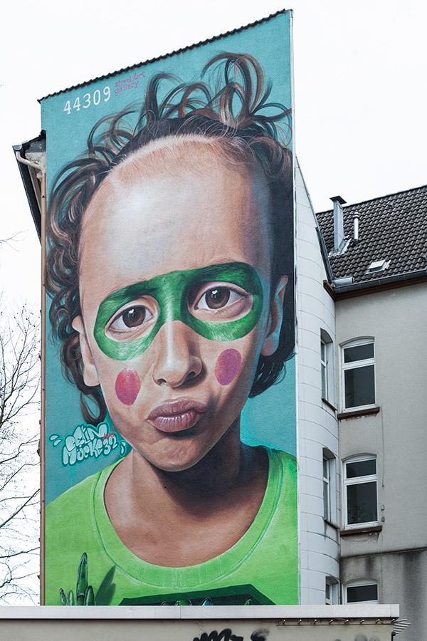 Architekturfotografie: Street-Art, Dortmund